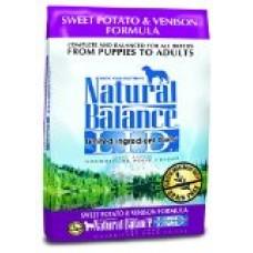 Dick Van Patten's Natural Balance Limited Ingredient Diets Sweet Potato and Venison Formula Dry Dog Food, 26-Pound Bag