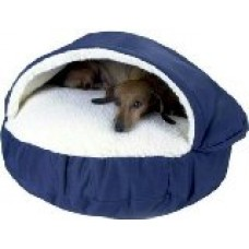 Cozy Cave Pet Bed in Poly Cotton Size: Small (25