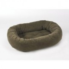 Donut Dog Bed Size: Small, Color: Mushroom