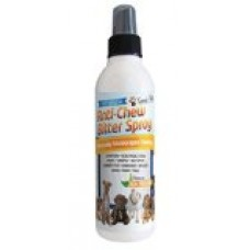 8 OZ #1 Premium Pet Chew & Scratch Deterrent - More Effective than Grannicks Bitter Apple - Discourages Destructive Chewing & Scratching - Patented Bitter Agent - All Natural Ingredients - Safe for Pets and the Environment - Effective training too