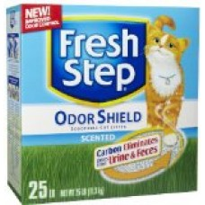 Fresh Step Odor Shield Scoopable Scented Litter - 25 lb