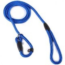 2013newestseller Pet Dog Whisperer Cesar Slip Training Leash Lead Collar (Blue)