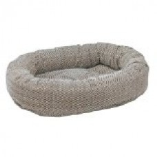 Donut Dog Bed Size: Medium, Color: Herringbone