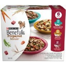 Beneful Wet Dog Food, Prepared Meals, Stew Variety Pack, 10-Ounce Tub, Pack of 6