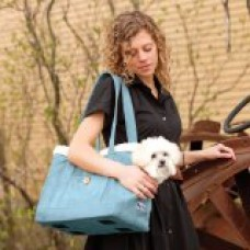 Kurgo Stowe Pet Carrier Shoulder Bag, Blue
