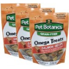 3 PACK Pet Botanics Healthy Omega Treats Salmon (15 oz)