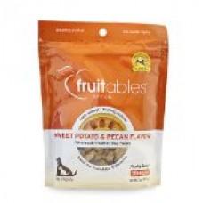 Fruitables Sweet Potato & Pecan Crunchy Dog Treats 1-7 ounce Pouch