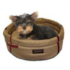 ABO Gear Brisbane Pet Bed, Small, Tan