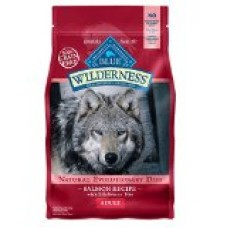 Blue Buffalo Wilderness Grain Free Dry Dog Food, Salmon Recipe, 24-Pound Bag