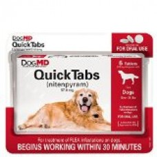 Dog MD Maximum Defense QuickTabs Nitenpyram Flea Treatment